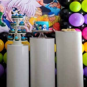 3 Pedestal Cylinders