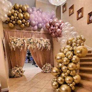 Balloon Garland for Staircase