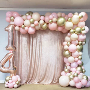 Balloon Garland W/Foil Balloons