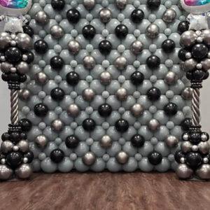 Link Balloon Wall W/ Balloon Towers