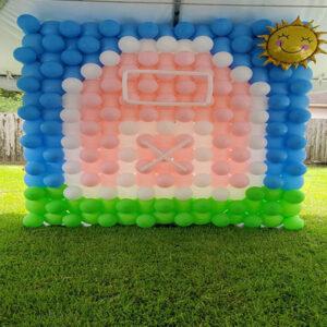 Barnyard Balloon Wall