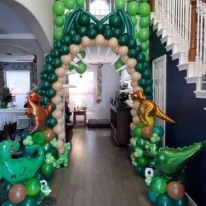 Dinosaur Balloon Decoration