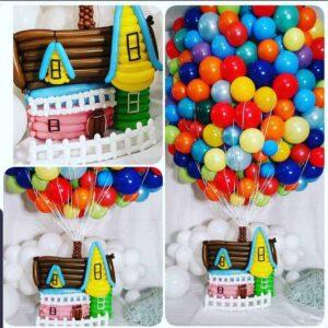 """""""Up"""" Balloon Decor"""